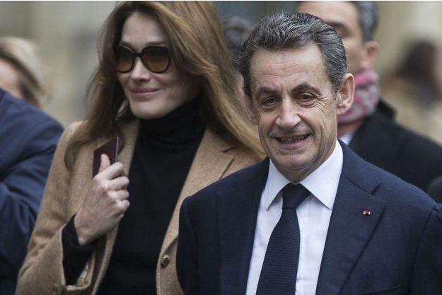 Nicolas Sarkozy et Carla Bruni en décembre dernier.
