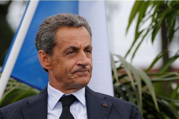 Nicolas Sarkozy, ici à la Baule lors de l'université d'été des Républicains.