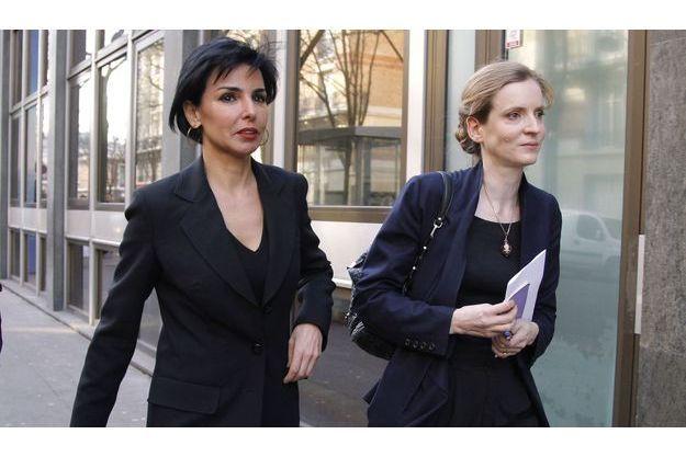 Rachida Dati et Nathalie Kosciusko-Morizet en février 2012.
