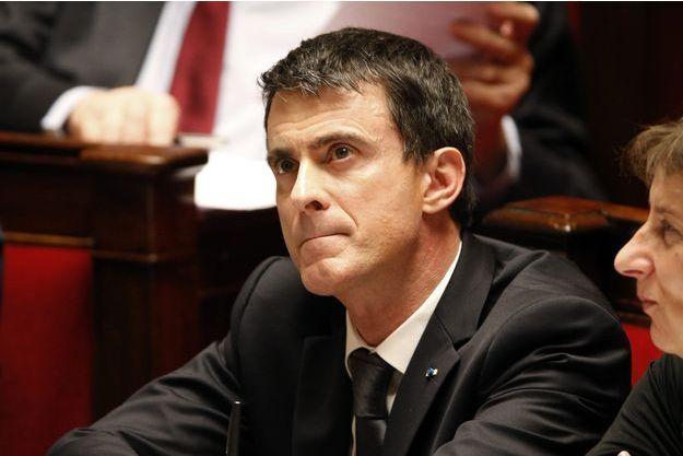 Manuel Valls à l'Assemblée nationale le 8 mars.