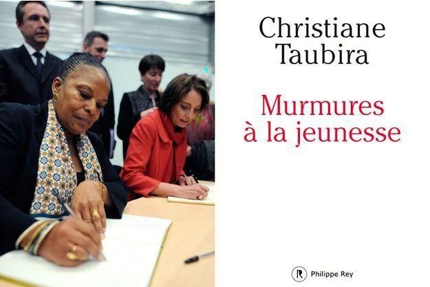 Couverture de «Murmures de la jeunesse» de Christiane Taubira