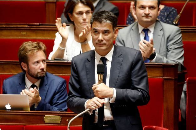 Olivier Faure à l'Assemblée nationale, en juillet dernier.