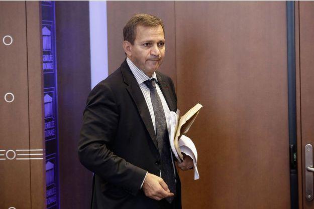 Patrick Karam à l'Assemblée nationale en septembre dernier.