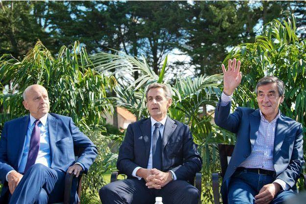 Alain Juppé, Nicolas Sarkozy et François Fillon
