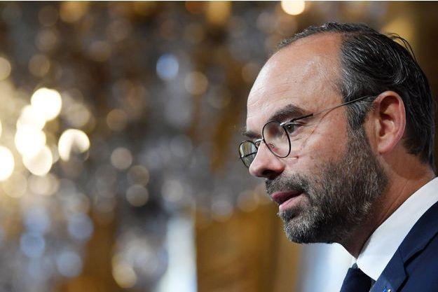 Edouard Philippe à la mairie de Paris jeudi.