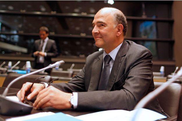 Pierre Moscovici devant la commission d'enquête parlementaire, le 16 juillet dernier.