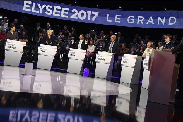 Le débat de mardi, diffusé sur BFM TV et CNews, a été suivi par plus de 6 millions de téléspectateurs.