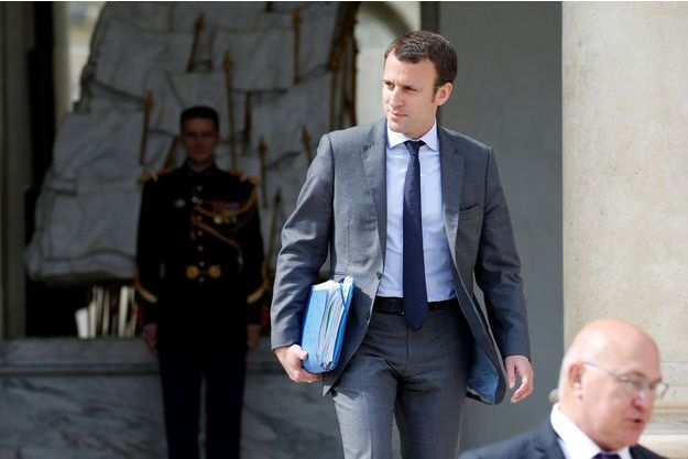 Emmanuel Macron, l'ancien ministre de l'Economie.