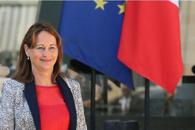 La ministre de l'Environnement Ségolène Royal, le 31 août 2016.