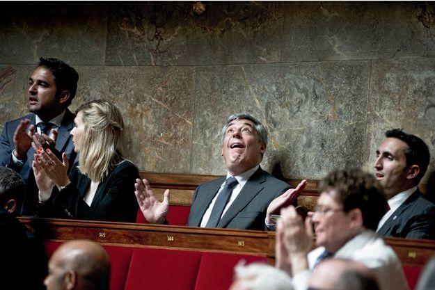 Henri Guaino à l'Assemblée lors des questions au gouvernement