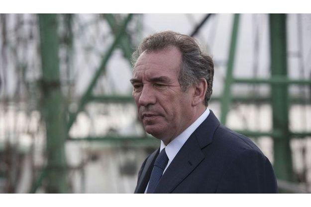 François Bayrou à Matoury, en Guyane, vendredi 16 mars.