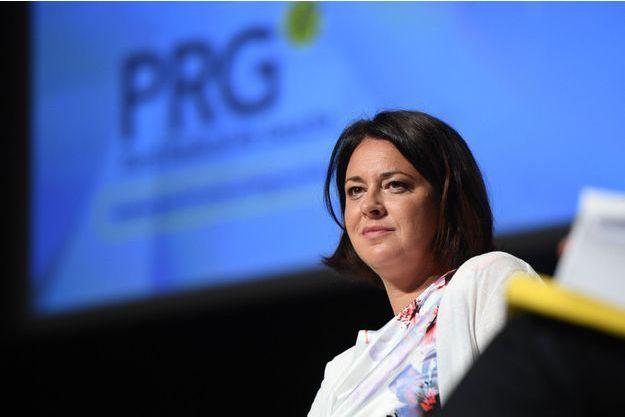Sylvia Pinel, en septembre dernier lors de Congrès du PRG.