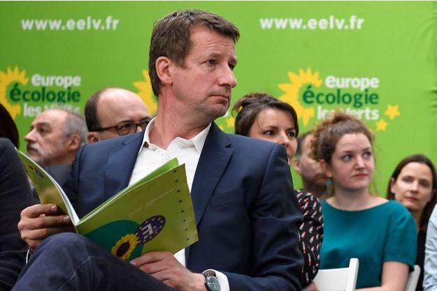 Yannick Jadot lors de la présentation de son programme, mercredi.