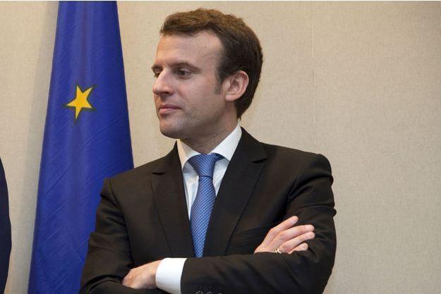 Emmanuel Macron le 3 mars dernier.
