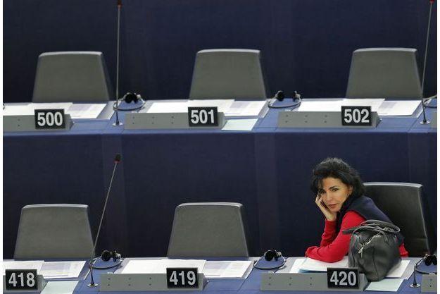 Rachida Dati au Parlement européen, le 8 septembre.