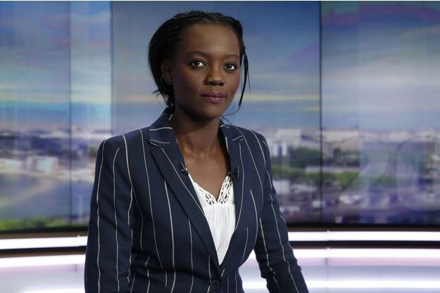 Rama Yade sur le plateau de TF1, le 21 avril 2016.