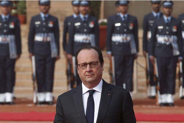 François Hollande, en visite d'Etat en Inde.