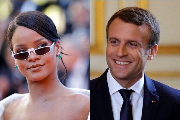 Quand Rihanna interpelle Emmanuel Macron sur Twitter