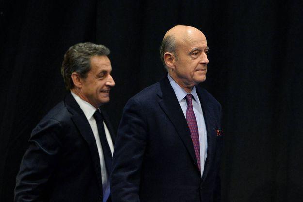 Nicolas Sarkozy et Alain Juppé sont les deux favoris pour la primaire à droite.