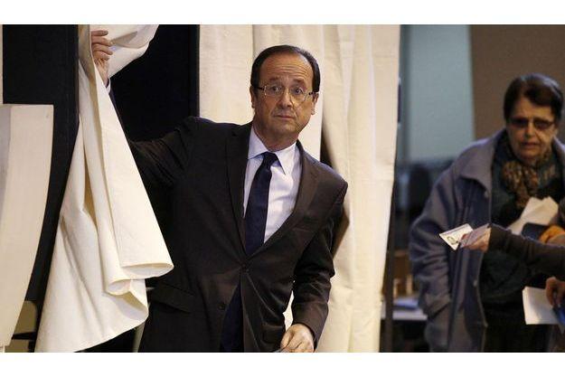 François Hollande reste le favori de l'élection présidentielle.