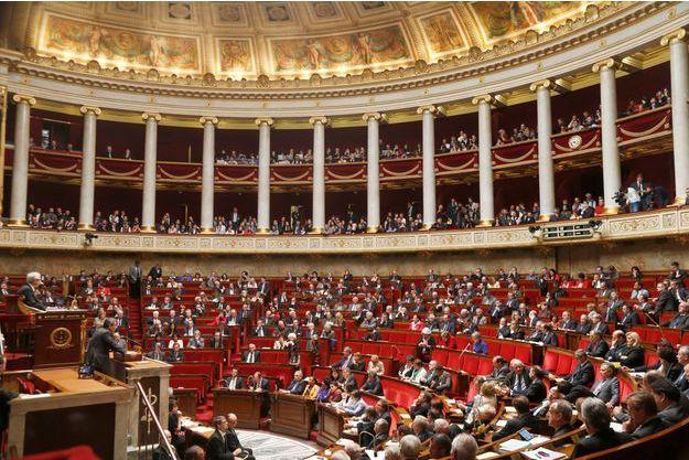 L'hémicycle du Palais Bourbon le 23 avril dernier, au moment du vote final sur le mariage pour tous.