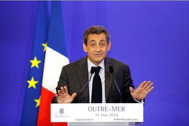 Nicolas Sarkozy lors de la réunion sur l'Outre-Mer le mardi 31 mai.