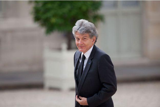 Thierry Breton à l'Elysée en juillet dernier.