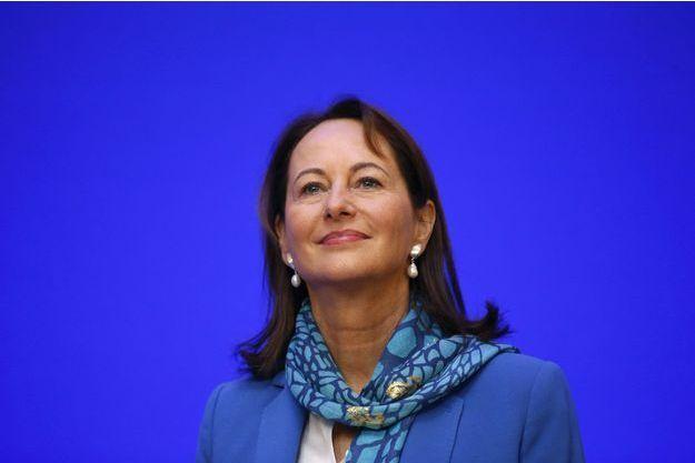 Ségolène Royal à une conférence de presse sur la COP en décembre dernier.