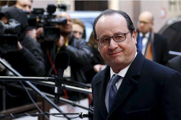 François Hollande à Bruxelles ce vendredi