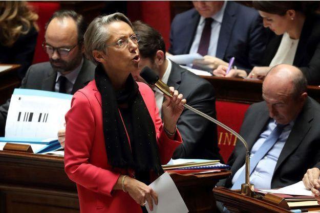 Elisabeth Borne en février 2018 à l'Assemblée Nationale