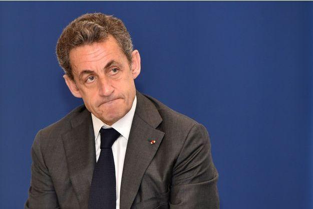 Nicolas Sarkozy à Nice le 22 avril dernier.