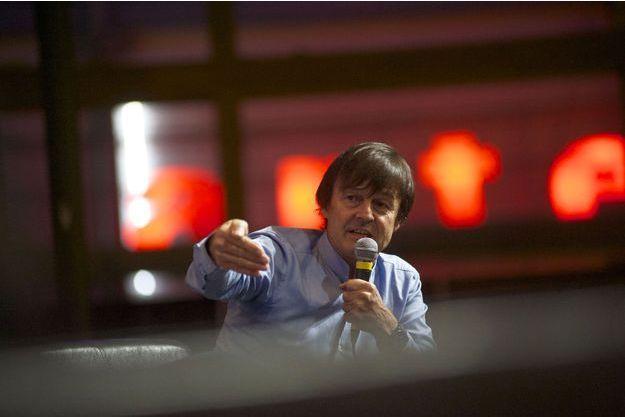 Nicolas Hulot à la COP21, le 8 décembre dernier.