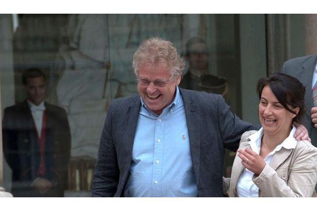 Daniel Cohn-Bendit et Cécile Duflot ont le vent en poupe avec les listes Europe Ecologie et Les Verts.