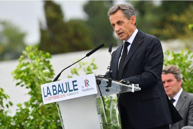 Nicolas Sarkozy, à La Baule
