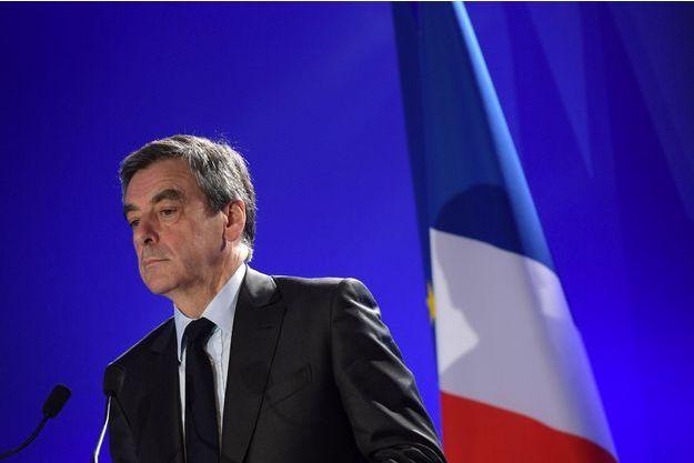François Fillon, le 6 avril 2017 à Paris.