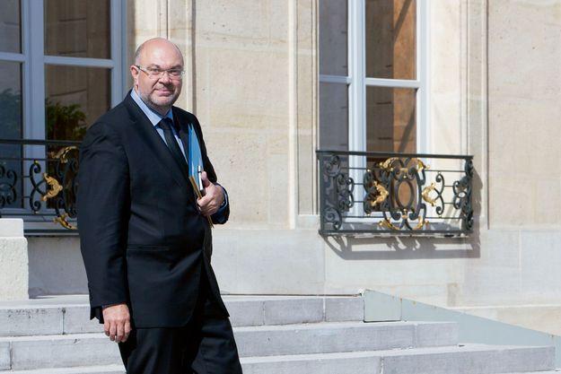 Stéphane Travert, le ministre de l'Agriculture, le 5 juillet à l'Elysée.