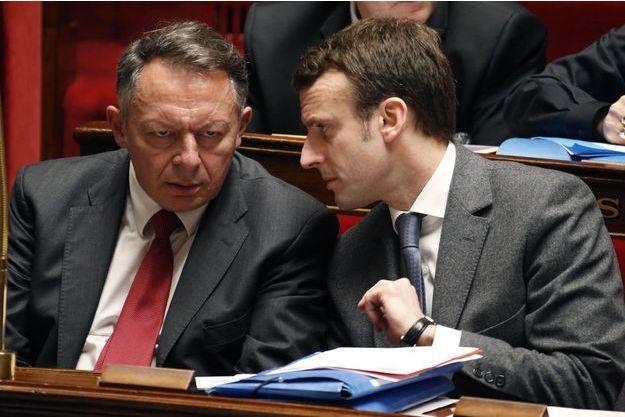 Thierry Braillard et Emmanuel Macron