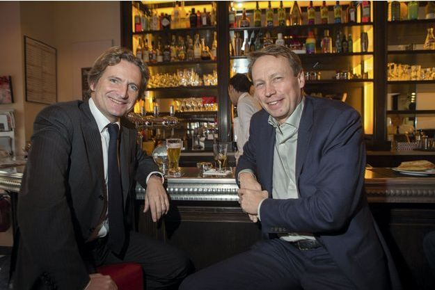 Le 14 février, les deux entrepreneurs engagés en politique, Charles Beigbeder et Denis Payre.