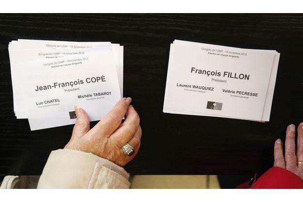 Dans un bureau de vote de Meaux, en Seine-et-Marne.
