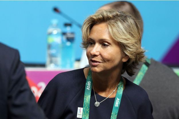Le 5 août à Rio. Valérie Pécresse en conférence de presse Paris 2024.