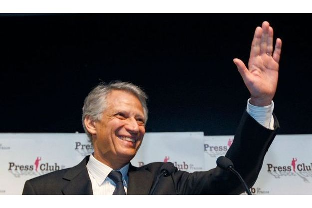 Dominique de Villepin au Press Club.