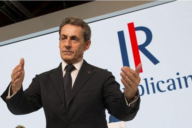 Nicolas Sarkozy lors du congrès des Républicains, samedi dernier.