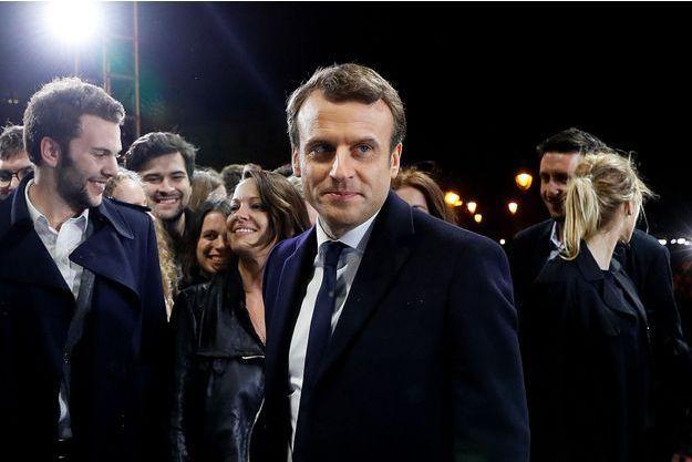 Emmanuel Macron à Paris, le 7 mai 2017.
