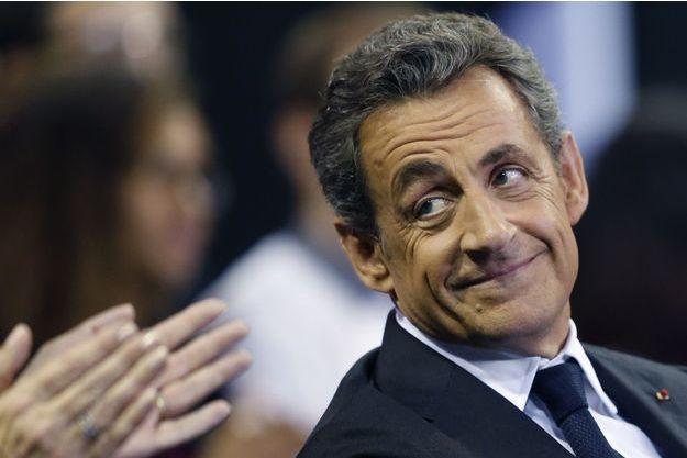 Nicolas Sarkozy lors d'un meeting à Mulhouse le 19 novembre dernier.