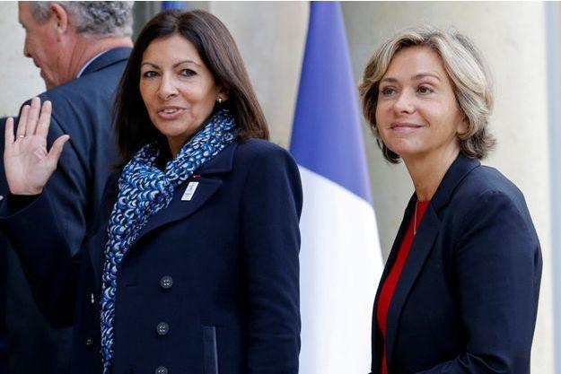 Anne Hidalgo et Valérie Pécresse (photo d'illustration)
