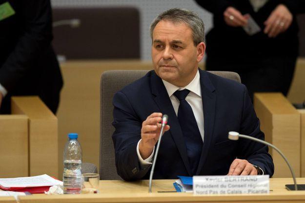 Xavier Bertrand est le président de la région Nord-Pas-de-Calais-Picardie