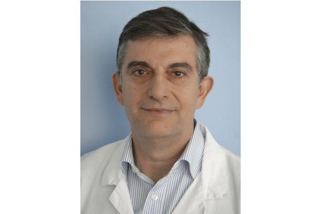 Pr Frédéric de Blay, Chef du pôle de pathologie thoracique des hôpitaux universitaires de Strasbourg.