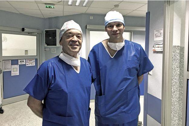 Les Drs Denis Fauck et Olivier Ami, gynécologues-obstétriciens à Sartrouville et à Paris.