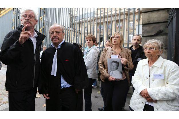 Plusieurs victimes et proches de victimes avaient fait le déplacement pour le procès, en septembre dernier.
