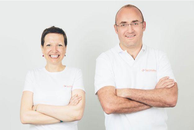 Guillemette Jacob et Fabien Reyal.